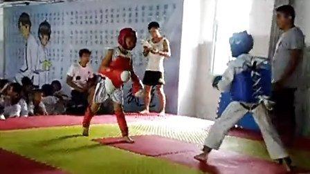 2013济阳散打跆拳道威震搏击 刘硕