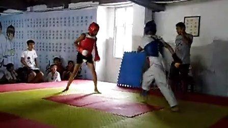 2013济阳散打跆拳道威震搏击