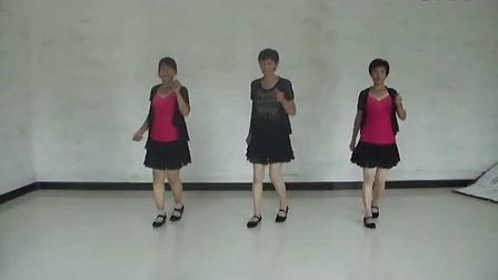 彩蝶广场舞《爱情恰恰》恰恰步 高清示范