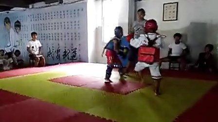 2013济阳散打跆拳道威震搏击 刘玉轩