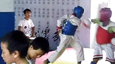 2013济阳散打跆拳道威震搏击 贾小龙张恒