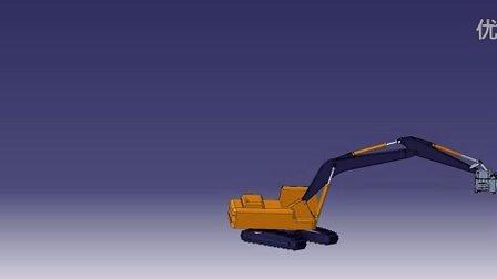 恒日重工W89A液压凿岩钻机操作模拟