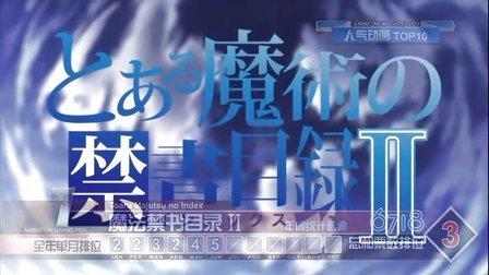 【2011年人气新番动画排行榜】【动感新时代-第107期】