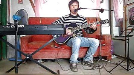 照片 061集安老九吉他弹唱缘分惹的祸