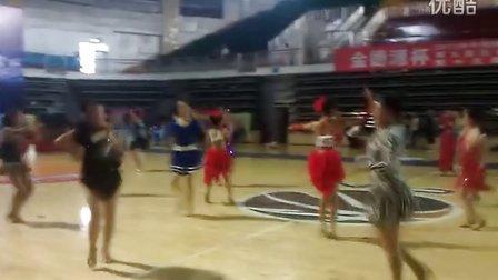 何金舞蹈…1491#卢欣悦…陈海彤…刘晗珂女单JIVE组冠军赛实况