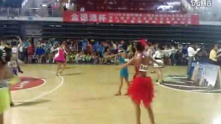 何金舞蹈…1491卢欣悦女单B组冠军赛实况