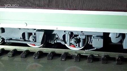 火车模型打滑--韶山3