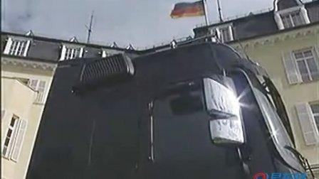 本是同根生 奔驰牵引车 PK.奔驰SLR跑车
