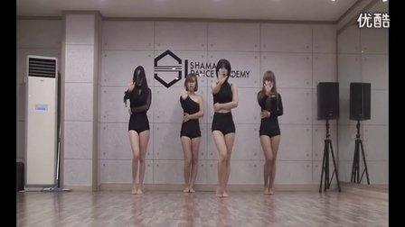韩国女团【BlackQueen】MV-24hours 编舞教学 排练视频 超性感!