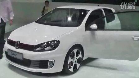 大众高尔夫GTI车展展示视频
