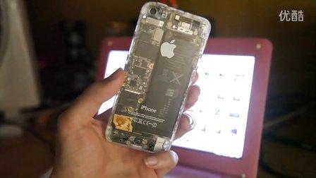 苹果Apple iphone5s 透明iphone5 演示 机能
