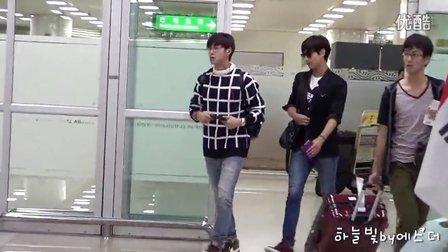 【moist】130915 동방신기 Yunho  Changmin 김포공항입국