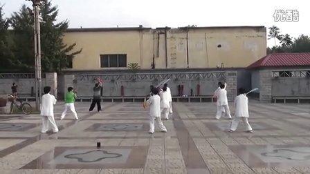 石家庄明珠太极队36式太极刀 2