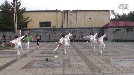 石家庄明珠太极队36式太极刀1