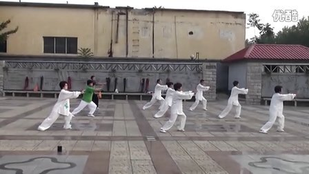 石家庄明珠太极队24式太极拳2