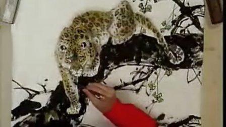 国画教程-豹5