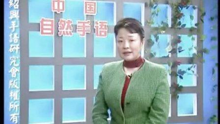 王丽娅:《中国自然手语教学录像》第一讲