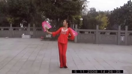 周小梅的舞蹈造型