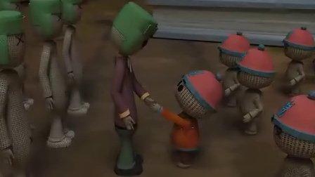 毕业设计原创3d动画《玩具大反攻》预告片logo修改版