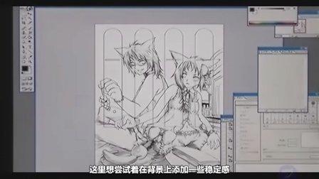 超强CG插画技法教程11—デジタル画法