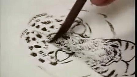 国画教程-豹2