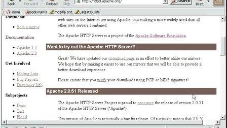 Linux系统管理-38.动态WEB服务器(Apache)part1-安装