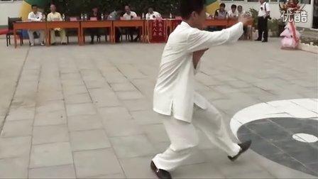 永年曲陌秘传杨班侯太极拳 李占英大师第134位入室弟子刘国先