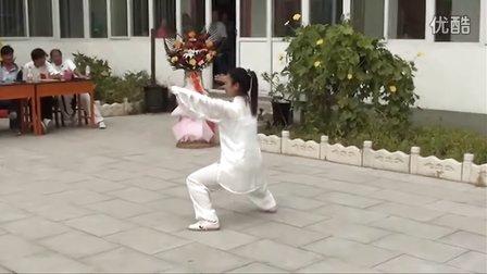永年曲陌秘传杨班侯太极拳 李占英大师第100位入室弟子刘娇莲