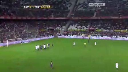2009-2010西班牙国王杯18决赛 塞维利亚VS巴塞罗那 下半场