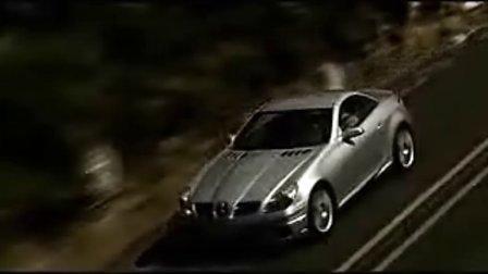奔驰SLK55 AMG高性能敞篷跑车