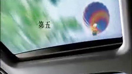 奔驰m级豪华运动旅行车广告