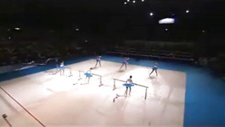 意大利集体表演 2009年日本艺术体操世锦赛
