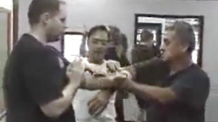 梁挺宗师2006年5月美国授拳之旅