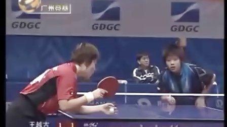 王越古VS郑怡静 49届世乒赛女团第二轮