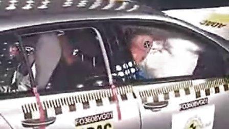 大众高尔夫 VI Euro NCAP 撞击测试