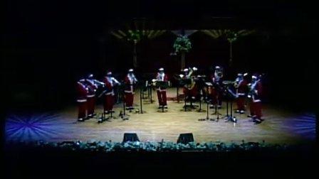 韩国铜管重奏视频-白色圣诞