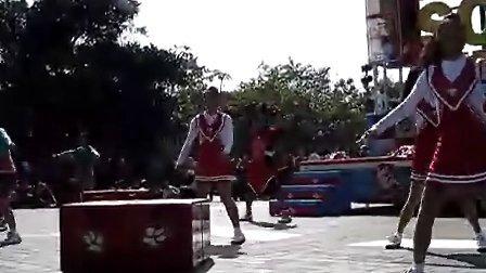 香港迪士尼乐园歌舞青春舞蹈
