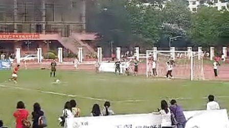 2009广州大学生联赛培正失点球