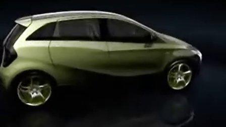 奔驰BlueZero概念车