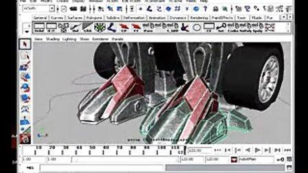 3D变形金刚制作过程
