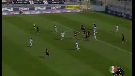 意甲 米利托梅开二度 国米客场逆转卡利亚里