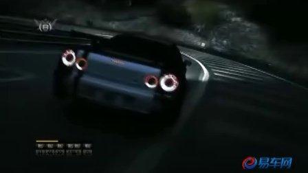 NISSAN GT-R  黑夜山路狂飙决斗