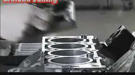 梅赛德斯奔驰AMG工厂里的发动机制造流程