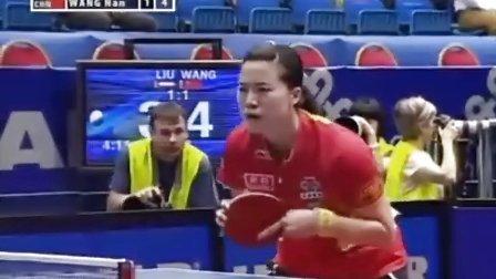 王楠VS刘佳 49届世乒赛女单16进8