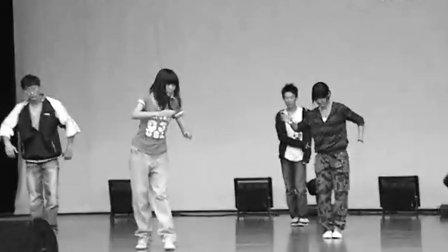 商院09迎新之现代舞团不靠谱彩排