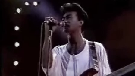 黄家驹BEYOND 巨人 1986台北演唱会