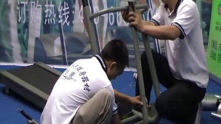 东莞市济民健身器材有限公司YK-212A多功能电动跑步机的安装视频