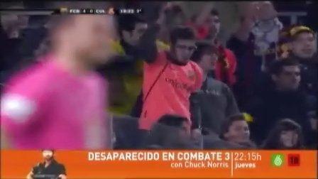 西班牙国王杯 巴塞罗那VS利安尼沙 下半场