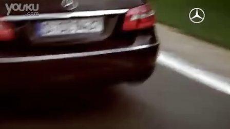 奔驰全新E系车广告