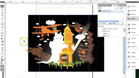 09. Exporting Illustrator into InDesign
